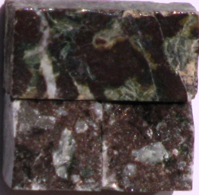 Tessere per mosaico Rosso Levanto kg.1