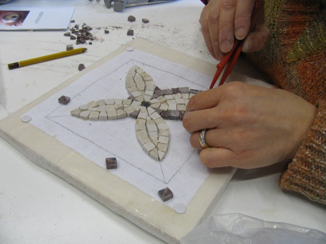 Tarlatana o cencio per mosaico e restauro