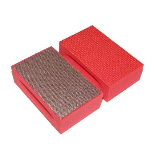 Tampone diamantato grana 220 ( rosso )