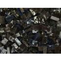 Nero Tessere smalti per mosaico miscela  n.23