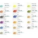 Colori in polvere coprenti per vetrofusione - float compatibile