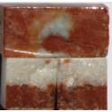Tessere per mosaico Rosso di Francia kg.1