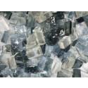 Mix n. 7 Grigio tessere in vetro colorato per mosaico