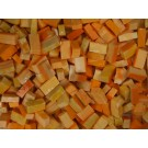 Arancio rosato Tessere smalti per mosaico miscela  n.27