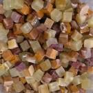 Tessere per mosaico Onice del Pakistan 1x1x1 cm. Tranciato