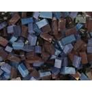 Viola scuro Tessere smalti per mosaico miscela  n.22