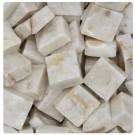 Tessere per mosaico Perlato di Sicilia 1x1x0,5 cm. (100 grammi) Tranciato
