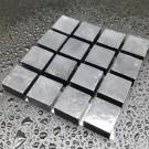 Tessere per mosaico nero Ardesia kg.1