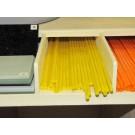 Bacchette di vetro Murano - Giallo limone pastello