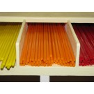 Bacchette di vetro Murano - Arancione pastello