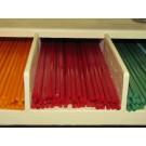 Bacchette di vetro Murano - Rosso pastello