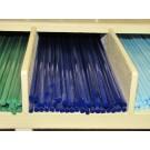 Bacchette di vetro Murano - Blu lapis pastello