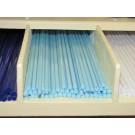 Bacchette di vetro Murano - celeste chiaro pastello