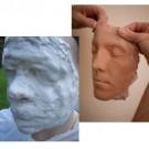 Face sil Gomma siliconica per calchi del viso