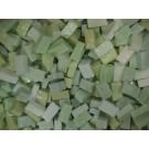 Verde chiaro  tessere smalti per mosaico miscela  n.11