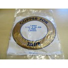 Nastro di rame adesivo 4.8 mm (rame-argento) per tiffany