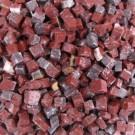 Tessere per mosaico Rosso Laguna 5x5x5 mm. (100 gr,)