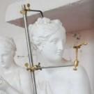 Macchinetta per i punti per scultura a doppio snodo
