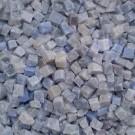 Tessere per mosaico Azzurro Macauba 5x5x5 mm. 100 gr.