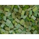 Verde medio Tessere smalti per mosaico miscela  n.12