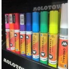 Pennarello Molotow one4all acrylic twin giallo zinco