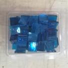 Tessere in vetro colorato per mosaico Blue trasparente