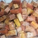 Tessere per mosaico Travertino rosso kg.1