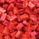 """Smalti per mosaico """"rosso"""" 340"""