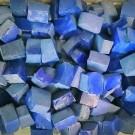 """Smalti per mosaico in tesseroni """"blue profondo"""""""