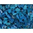 Azzurro cielo scuro Tessere smalti per mosaico miscela  n.7