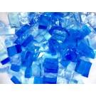 Mix n. 1 Azzurri tessere in vetro colorato per mosaico