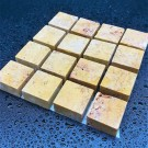 Tessere per mosaico Travertino giallo kg.1